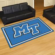 Middle Tennessee State Blue Raiders 5' x 8' Area Rug