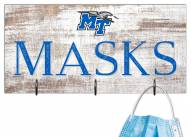 "Middle Tennessee State Blue Raiders 6"" x 12"" Mask Holder"