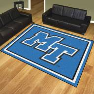 Middle Tennessee State Blue Raiders 8' x 10' Area Rug