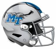Middle Tennessee State Blue Raiders Authentic Helmet Cutout Sign