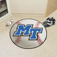 Middle Tennessee State Blue Raiders Baseball Rug