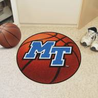 Middle Tennessee State Blue Raiders Basketball Mat