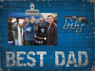 Middle Tennessee State Blue Raiders Best Dad Clip Frame