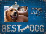 Middle Tennessee State Blue Raiders Best Dog Clip Frame
