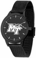 Middle Tennessee State Blue Raiders Black Dial Mesh Statement Watch