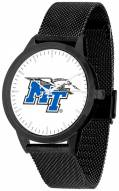 Middle Tennessee State Blue Raiders Black Mesh Statement Watch