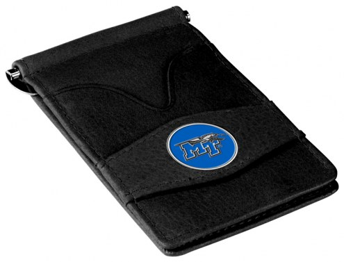 Middle Tennessee State Blue Raiders Black Player's Wallet