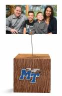 Middle Tennessee State Blue Raiders Block Spiral Photo Holder