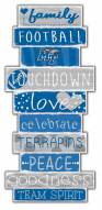 Middle Tennessee State Blue Raiders Celebrations Stack Sign