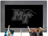 Middle Tennessee State Blue Raiders Chalkboard with Frame