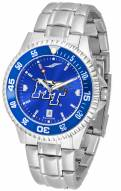 Middle Tennessee State Blue Raiders Competitor Steel AnoChrome Color Bezel Men's Watch