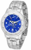 Middle Tennessee State Blue Raiders Competitor Steel AnoChrome Men's Watch