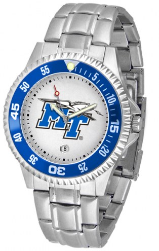 Middle Tennessee State Blue Raiders Competitor Steel Men's Watch