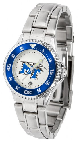 Middle Tennessee State Blue Raiders Competitor Steel Women's Watch