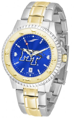 Middle Tennessee State Blue Raiders Competitor Two-Tone AnoChrome Men's Watch