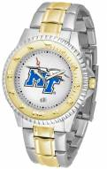 Middle Tennessee State Blue Raiders Competitor Two-Tone Men's Watch