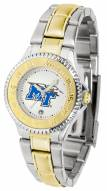 Middle Tennessee State Blue Raiders Competitor Two-Tone Women's Watch
