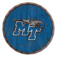 "Middle Tennessee State Blue Raiders Cracked Color 24"" Barrel Top"