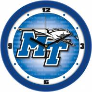 Middle Tennessee State Blue Raiders Dimension Wall Clock
