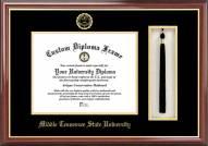 Middle Tennessee State Blue Raiders Diploma Frame & Tassel Box