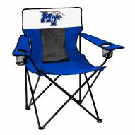 Middle Tennessee State Blue Raiders Elite Tailgating Chair