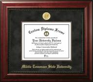 Middle Tennessee State Blue Raiders Executive Diploma Frame