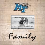 Middle Tennessee State Blue Raiders Family Picture Frame