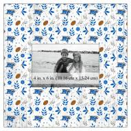 "Middle Tennessee State Blue Raiders Floral Pattern 10"" x 10"" Picture Frame"
