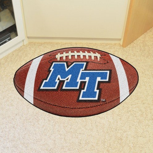 Middle Tennessee State Blue Raiders Football Floor Mat