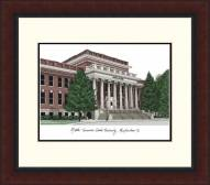 Middle Tennessee State Blue Raiders Legacy Alumnus Framed Lithograph