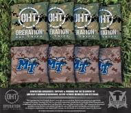 Middle Tennessee State Blue Raiders Operation Hat Trick Cornhole Bag Set