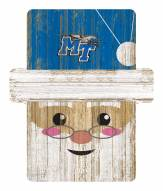 Middle Tennessee State Blue Raiders Santa Ornament