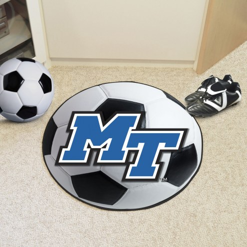 Middle Tennessee State Blue Raiders Soccer Ball Mat