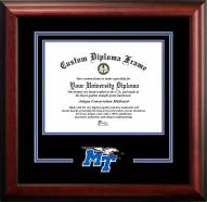 Middle Tennessee State Blue Raiders Spirit Diploma Frame