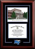 Middle Tennessee State Blue Raiders Spirit Graduate Diploma Frame