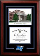 Middle Tennessee State Blue Raiders Spirit Graduate Diploma Frame