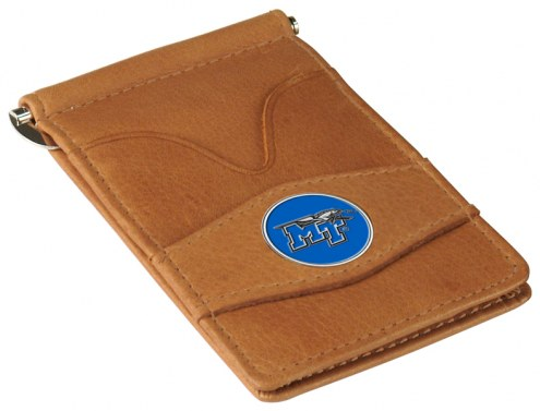 Middle Tennessee State Blue Raiders Tan Player's Wallet