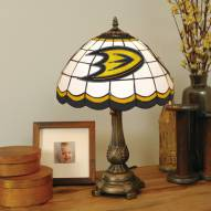 Anaheim Mighty Ducks NHL Stained Glass Table Lamp