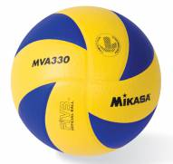Mikasa MVA330 Club Version of Olympic Indoor Volleyball - Blue/Yellow