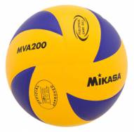Mikasa Official 2008 Beijing Olympic Indoor Volleyball - Blue/Yellow