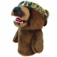 Military Bear Golf Driver Head Cover