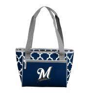 Milwaukee Brewers 16 Can Cooler Tote