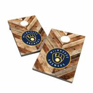 Milwaukee Brewers 2' x 3' Cornhole Bag Toss