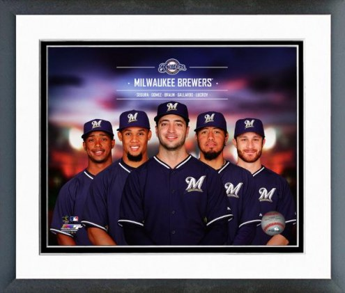 Milwaukee Brewers Team Composite Framed Photo