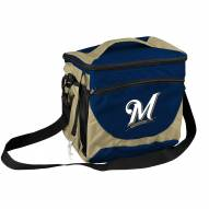 Milwaukee Brewers 24 Can Cooler