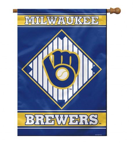 "Milwaukee Brewers 28"" x 40"" Banner"
