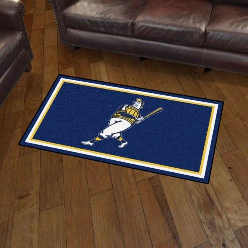 Milwaukee Brewers 3' x 5' Area Rug