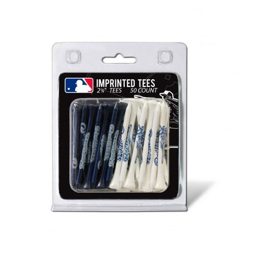 Milwaukee Brewers 50 Golf Tee Pack