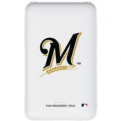 Milwaukee Brewers 5,000 mAh Portable Power Bank