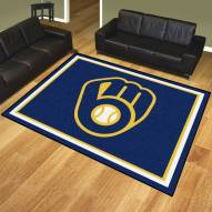 Milwaukee Brewers 8' x 10' Area Rug